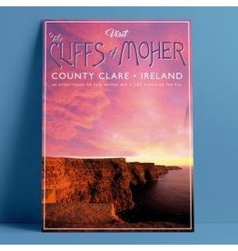 Fintan Wall Design The Cliffs of Moher A4 Print