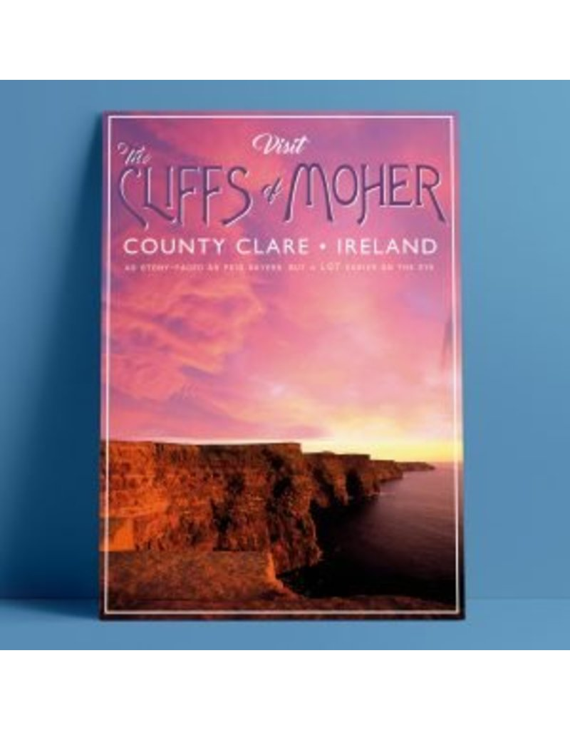 Fintan Wall Design The Cliffs of Moher A4 Print