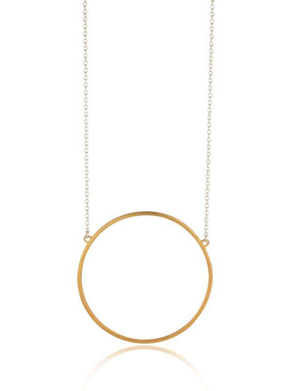 Ancaire Gold Circle Necklace