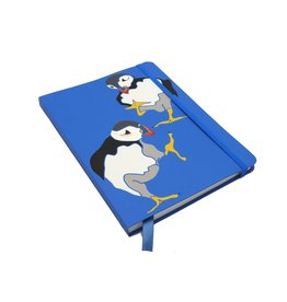 Annabel Langrish Puffins A5 Notebook