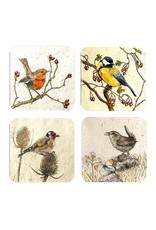 Annabel Langrish  Irish Garden Birds Coaster Set