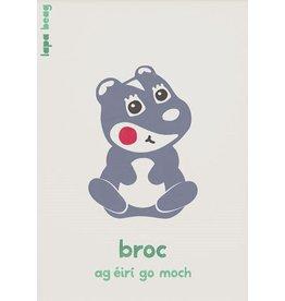 Lapa Beag Broc - Badger A3 Print