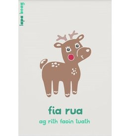 Lapa Beag Fia Rua - Red Deer A3 Print