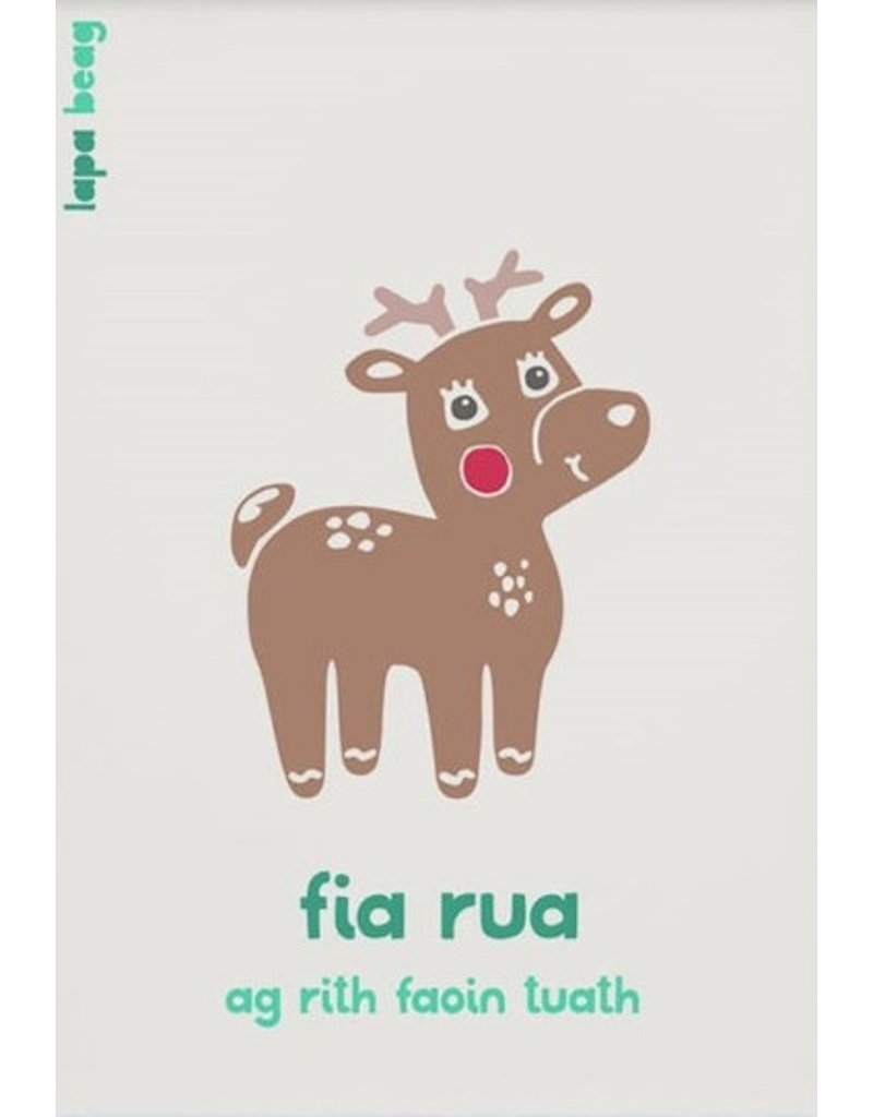 Fia Rua - Red Deer A3 Print