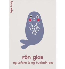Lapa Beag Rón Glas -Grey Seal  A3 Print