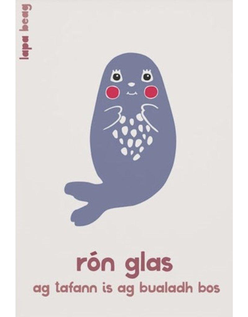 Rón Glas -Grey Seal  A3 Print