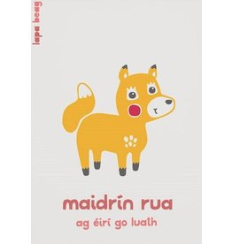 Maidrín Rua - Little Fox A3 Print