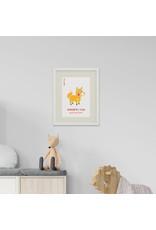 Lapa Beag Maidrín Rua - Little Fox A3 Print