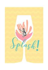 Vintage - Splash! A3 Print