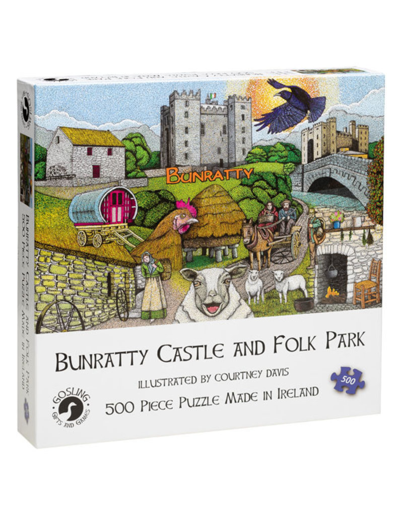 Gosling Gifts and Games Bunratty Castle Jigsaw Puzzle