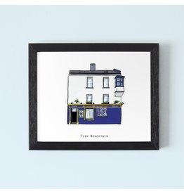 Tigh Neachtains Galway Framed Print
