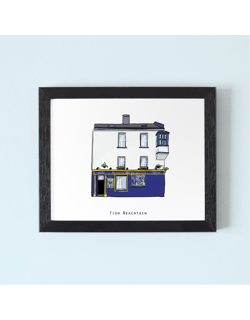 Tigh Neachtains Pub Galway Framed Print