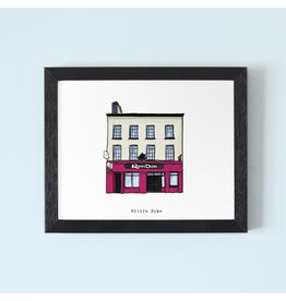 Cowfield Design Roisin Dubh Galway Framed Print