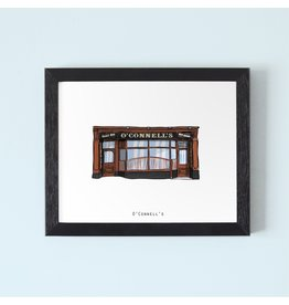 Cowfield Design O'Connell's Galway Framed Print