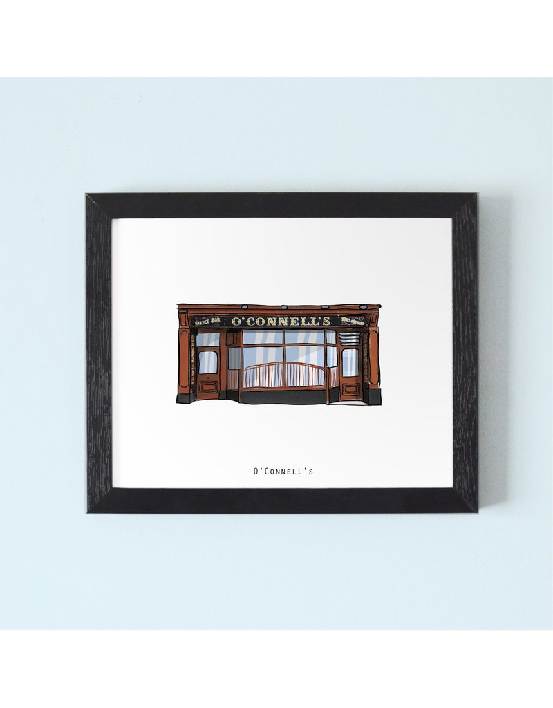O'Connell's Pub Galway Framed Print