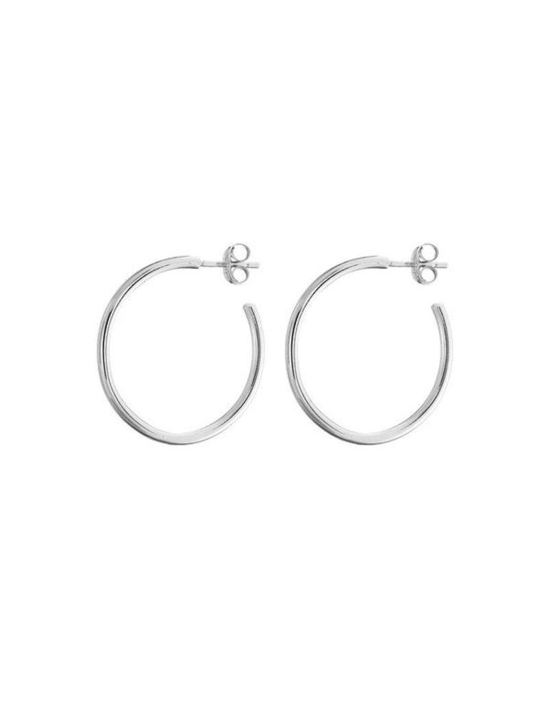 Mary k Jewellery Silver Hoop Earrings