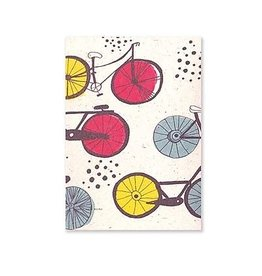 A5 Lined Notebook- Bikes