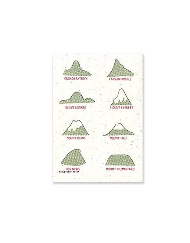 A5 Lined Notebook- Mountains