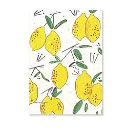 Badly Made Books A5 Bullet Notebook- Lemons