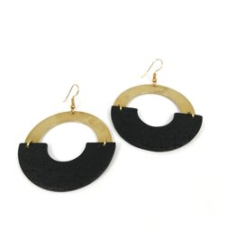 Daki Daki Design Brass Pola Earrings