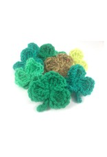 Barbara Naughton  Shamrock Crochet Brooch