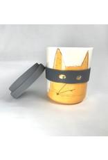 Karo Art Bandit / Superhero Reusable Takeaway Cup -Fox