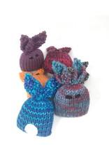 Rosalie Andrews Hand Knit Pocket Bunny