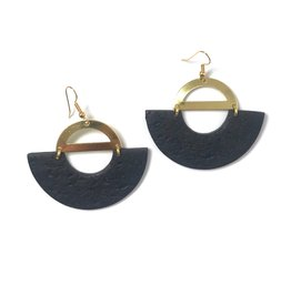 Daki Daki Design Brass Mara Earrings