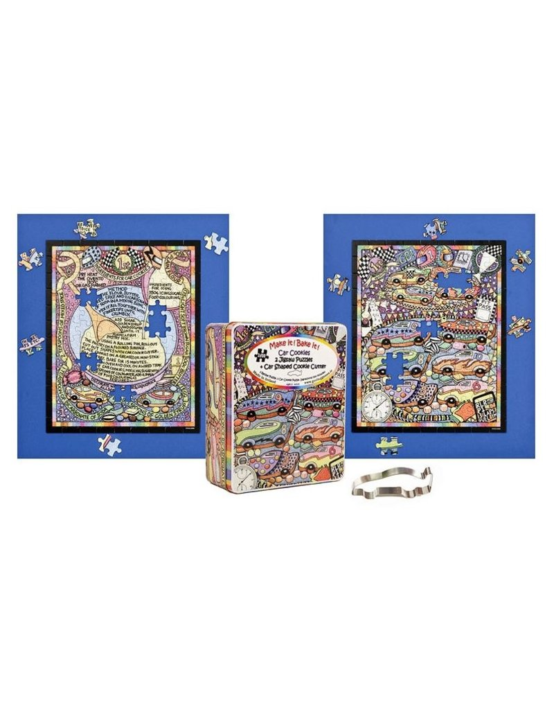 Gosling Gifts and Games Car and Cookies Puzzles-2x 100 piece puzzles