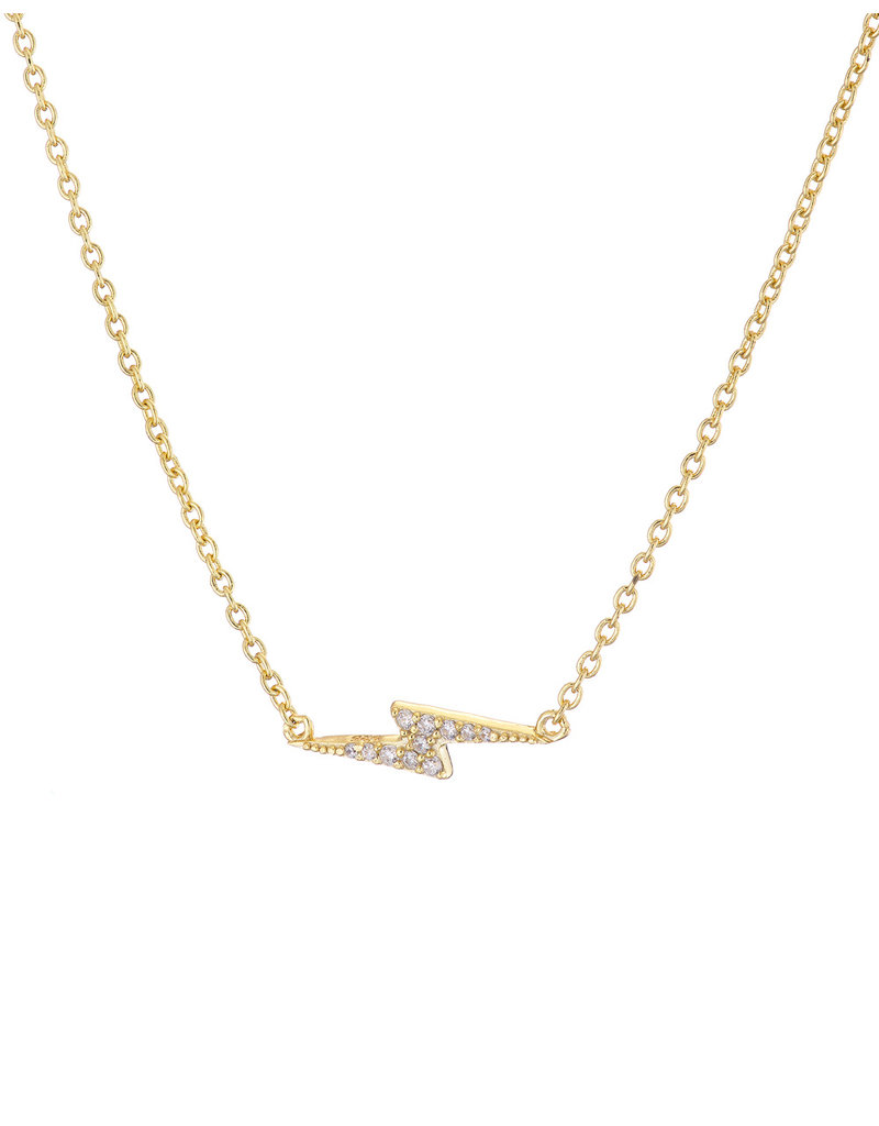 Mary k Jewellery Gold Vermeil Cubic Zirconia Pave Flash Necklace