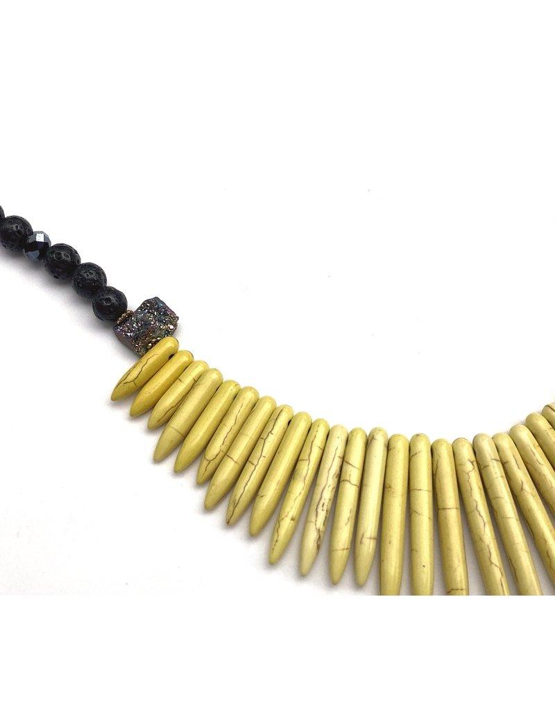 Aria V Morgan Yellow Necklace