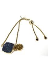 Aria V Midnight Druze Bracelet