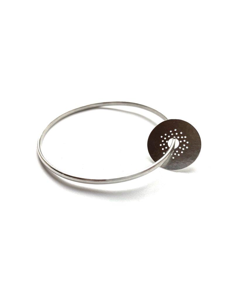 Berina Kelly Circle Collection Silver Bangle