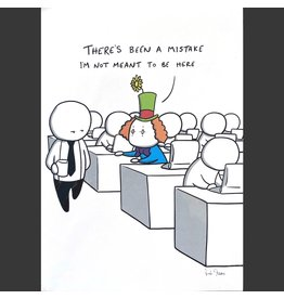 Rob Stears Clerical Error print