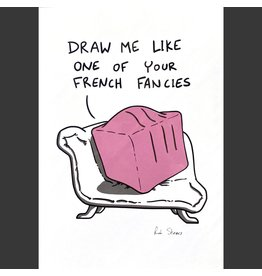 Rob Stears French Fancy A4 Print