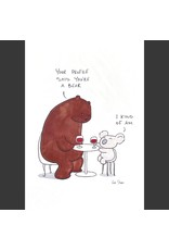 Rob Stears Tinder Date A4 Print Unframed