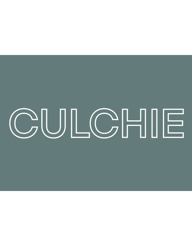 My Shop Collection Culchie A4 Print- Green