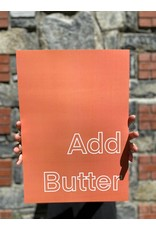 My Shop Collection Add Butter A4 Print - Peach