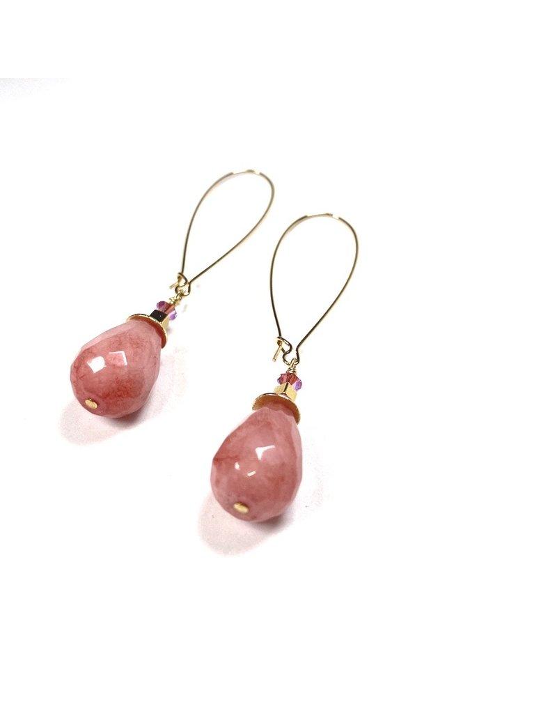 KKajoux Jewels St Lucia Long Drop Earrings