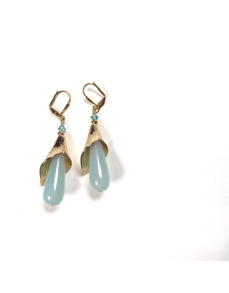 KKajoux Jewels Seaflower Drop Earrings