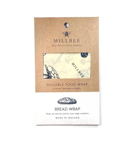 Millbee Studio Reusable Beeswax Food Wraps Bread Large