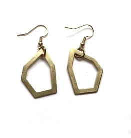 Kaiko Studio Geometric Outline Earrings