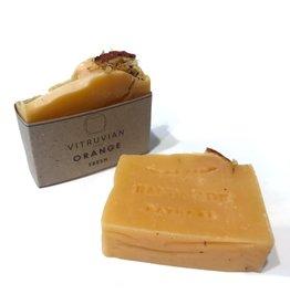 Vitruvian Soap Fresh Citrus Orange Soap