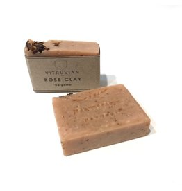 Vitruvian Soap Rose Clay and Bergamot Soap