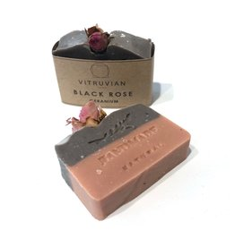 Vitruvian Soap Black Rose and Geranium Soap