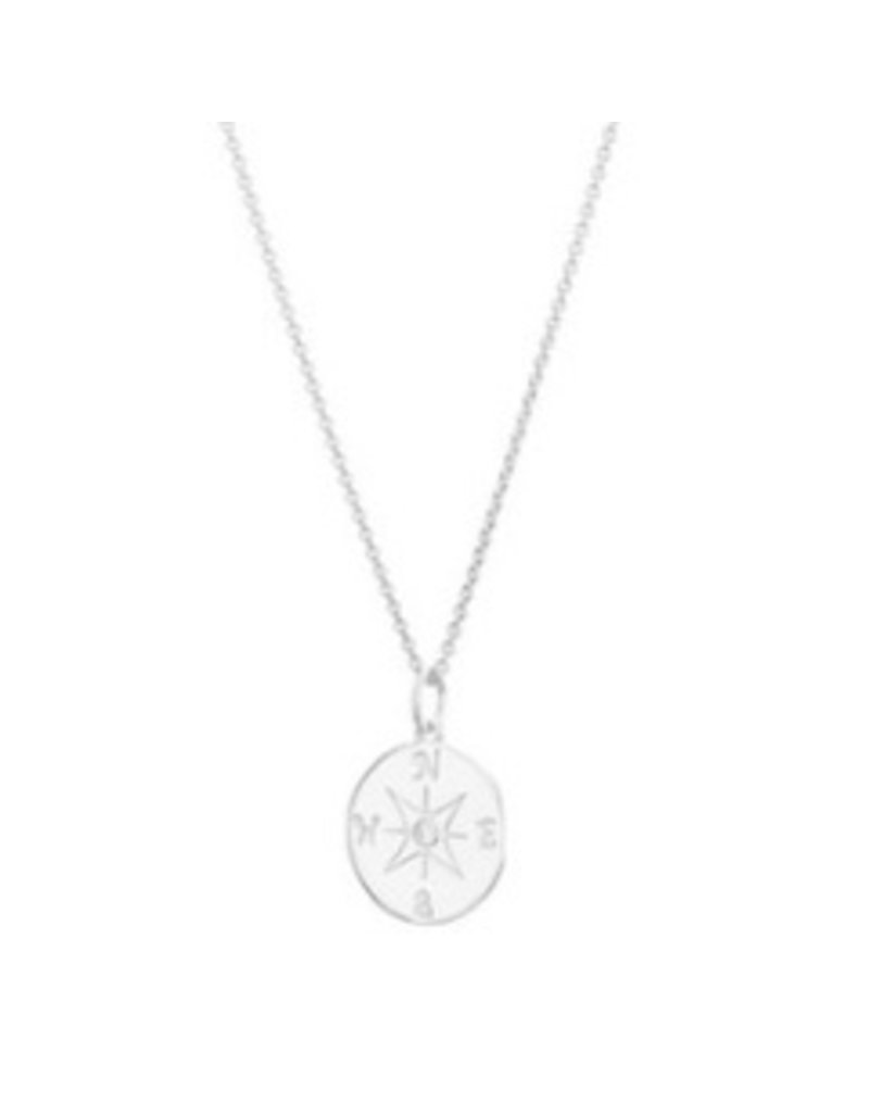 Mary k Jewellery Silver Compass Necklace