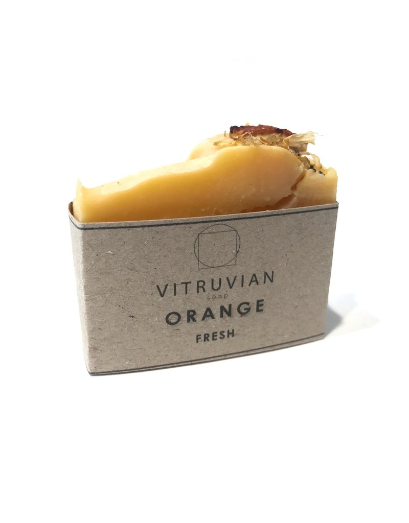 Vitruvian Soap Fresh Citrus Orange Soap