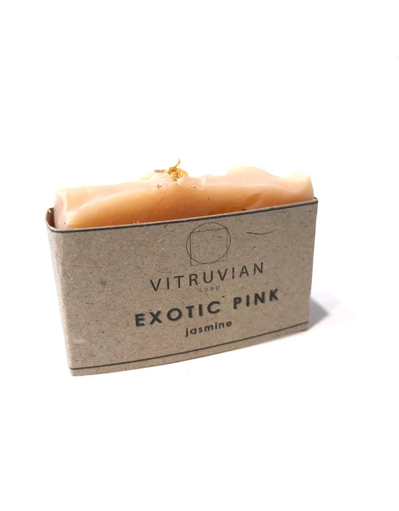 Vitruvian Soap Exotic Pink Jasmine and Clary Sage Soap
