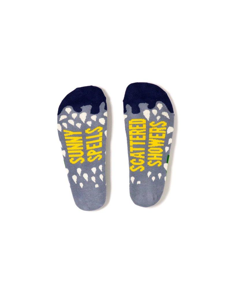 Irish Sock Society Sunny Spells, Scattered Showers Socks - Size 8-12