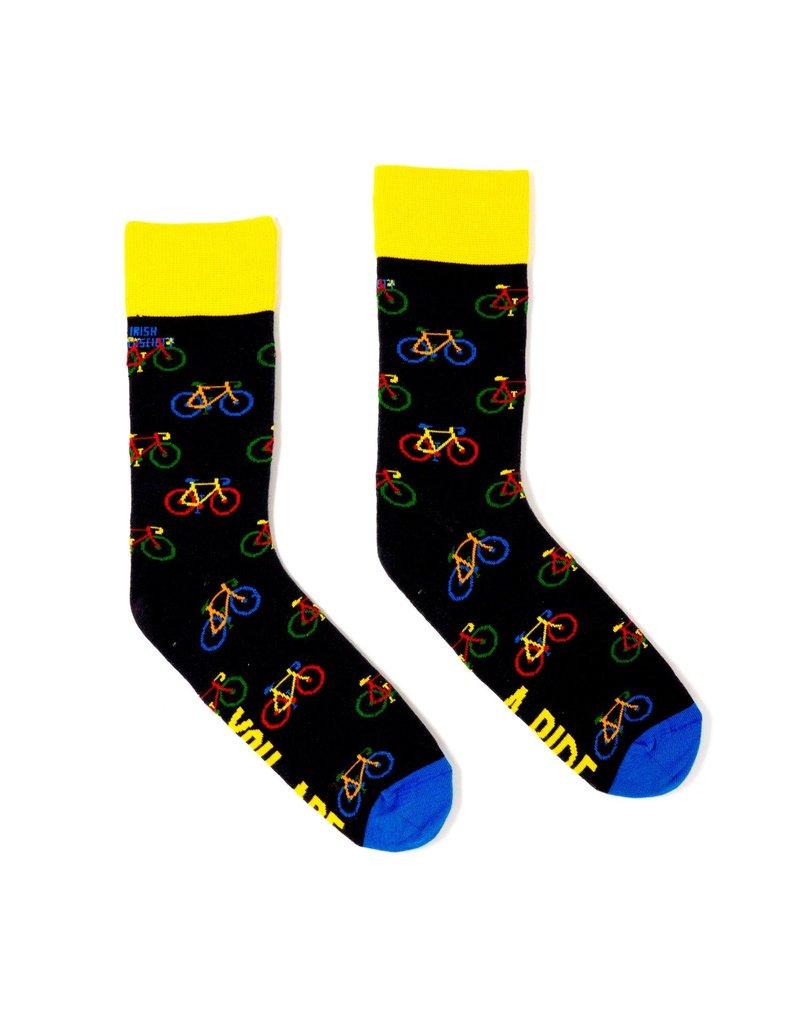 Irish Sock Society You Are A Ride Socks - Size 8-12